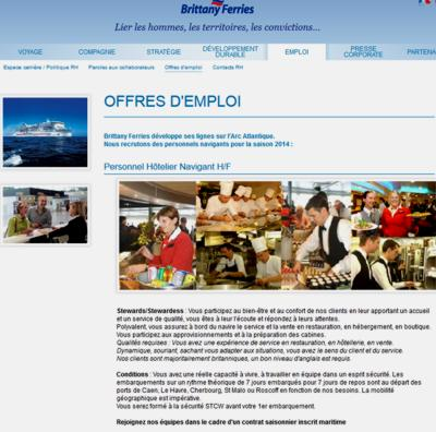 14 Brittany Ferries