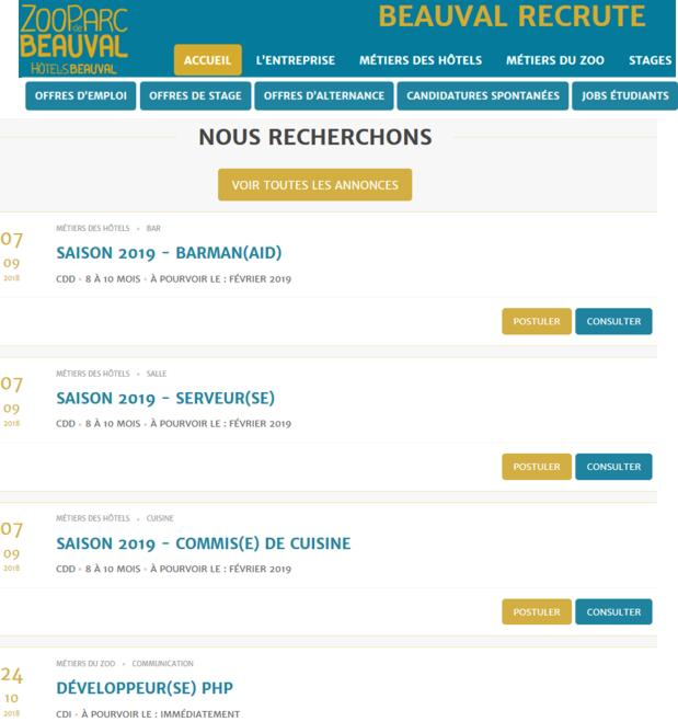 18 Jobs Hiver Zoo Parc Beauval