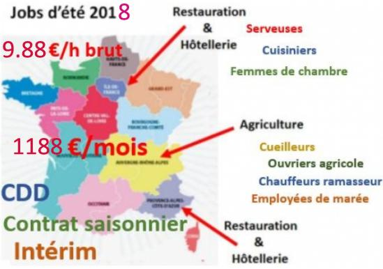 18 Carte Jobs Ete 2018