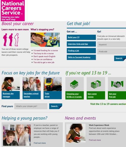 16 National Careers Service
