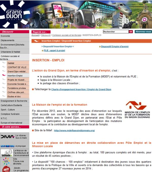 17 Grand Dijon Insertion Emploi