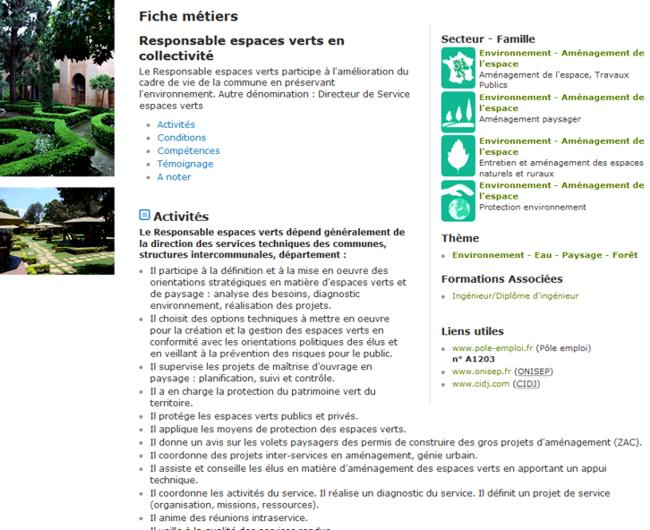 18 Enseignement Agricole Metiers Fiche