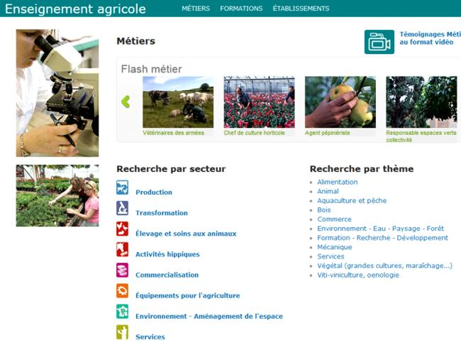 18 Enseignement Agricole Metiers