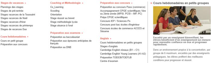 20 Acadomia  Cours Groupe