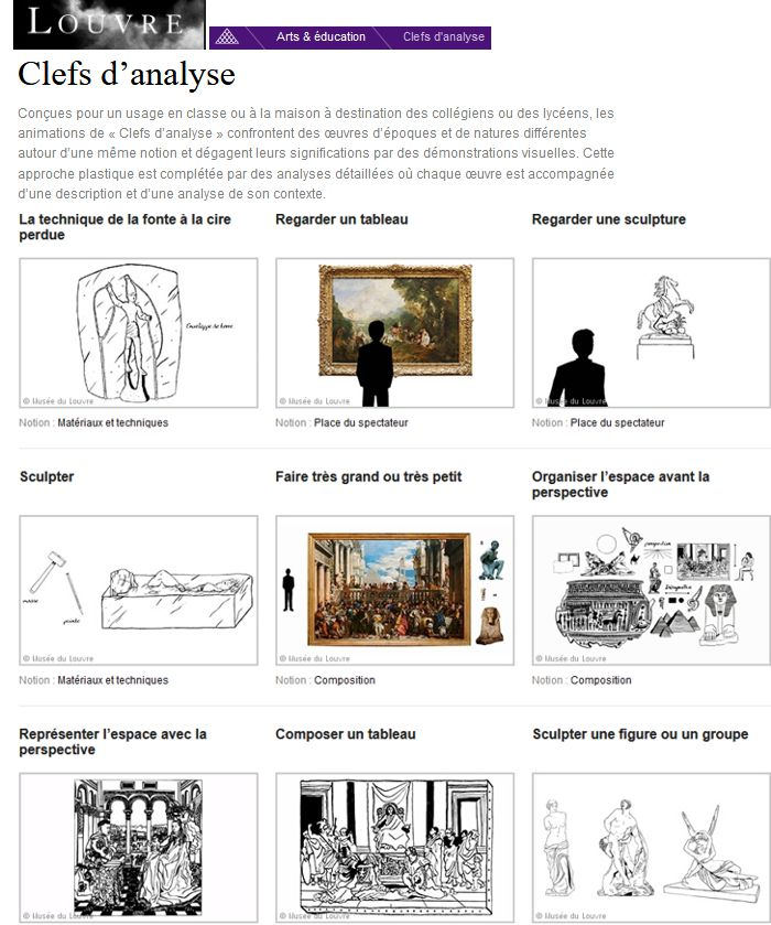 20 Le Louvre Arts Education Clefs Analyse