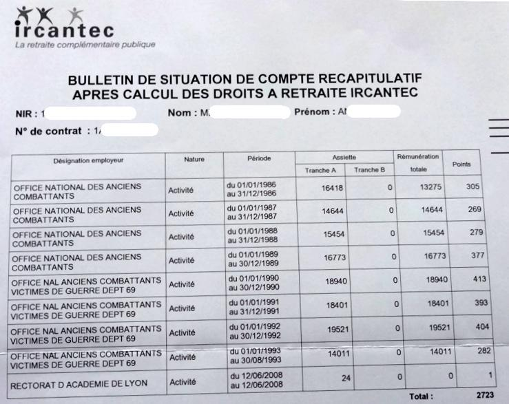17 Ircantec Bulletin Situation terminale