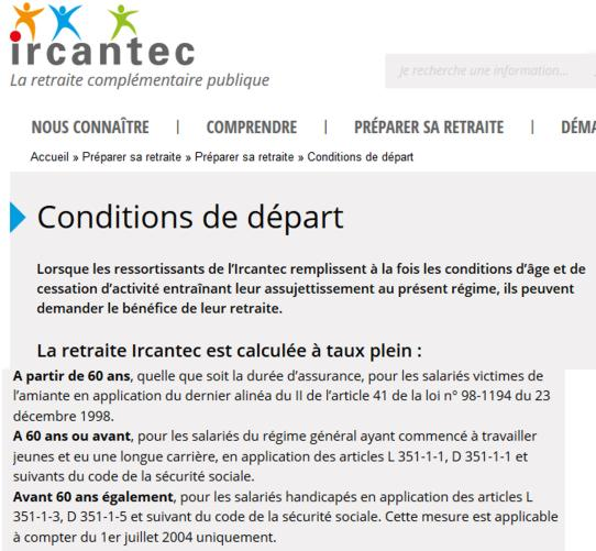 17 Ircantec Conditions Depart