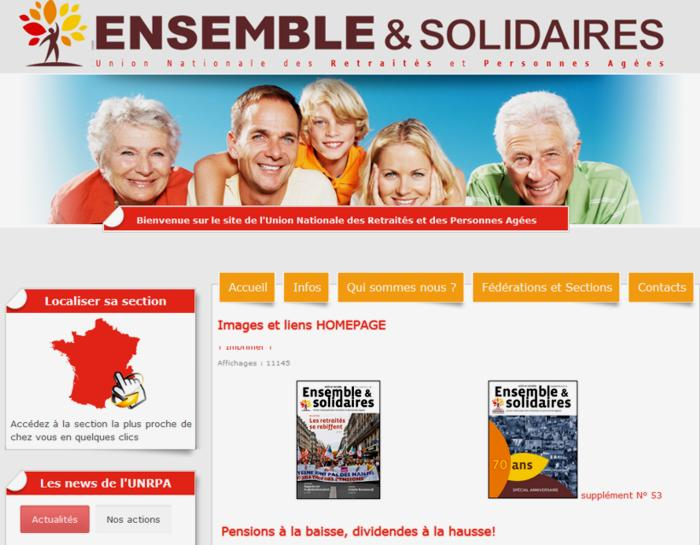 18 Site Union Nationale des Retraites Personnes agees